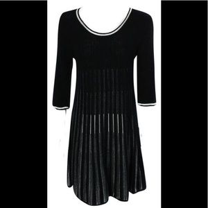 FRENCH CONNECTION 3/4 Sleeve Knit Sweater Dress 8